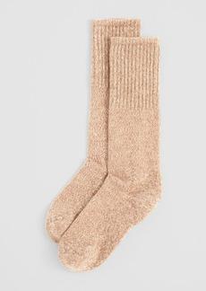 HUE Cowgirl Marled Boot Socks