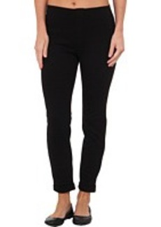 HUE Cuffed Tweed Ponte Skimmer Leggings