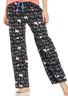 HUE Dog Print Pajama Pants