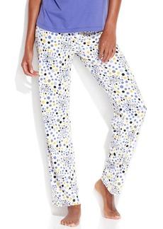 Hue Dot Bloom Slim Fit Pajama Pants