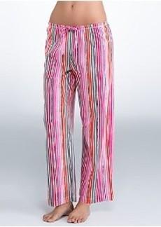 HUE Endless Stripe Knit Pajama Pants