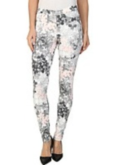 HUE Faded Floral Original Denim Legging