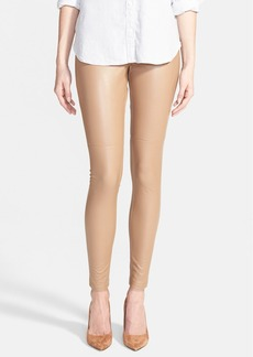 Hue Faux Leather Leggings