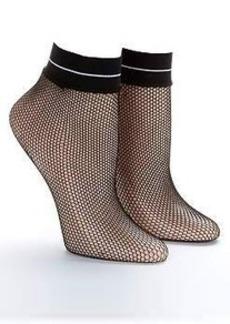 HUE Fishnet Anklet Socks