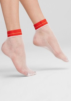 HUE Fishnet Anklet Socks