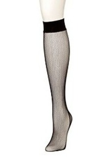 HUE® Fishnet Knee High Socks