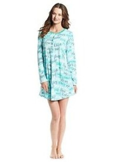 HUE® Fleece Sleepshirt