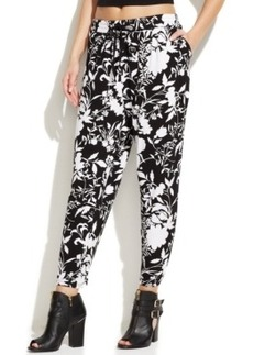 Hue Floral Chill Rayon Jersey Skimmer Leggings