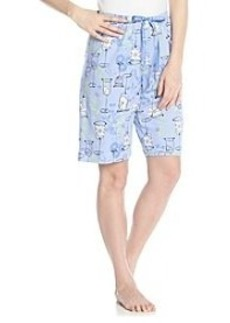 HUE® Flower Cocktail Bermuda Shorts
