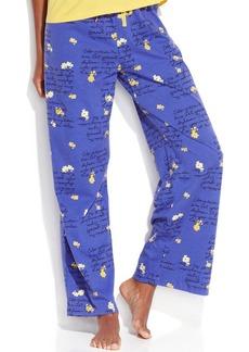 Hue Flower Letter Pajama Pants