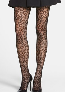 Hue 'Flower' Openwork Tights