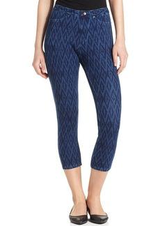 Hue Ikat Jeans Capri Leggings