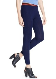 Hue Indigo Cotton Skimmer with Elastic Waistband