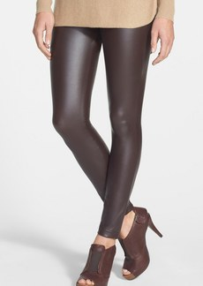 Hue 'Leatherette' Leggings