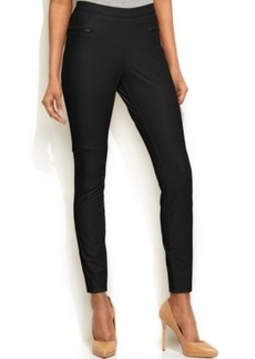 Hue Leatherette Skimmer Leggings