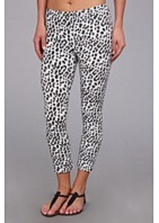 HUE Leopard Cotton Capri