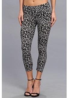 HUE Leopard Cotton Capri