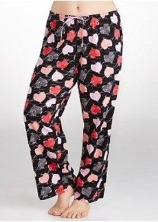 HUE Love Connection Knit Pajama Pants Plus Size
