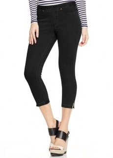Hue Original Denim Capri w/ Ankle Slits