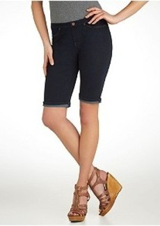 HUE Original Jeans Boyfriend Shorts