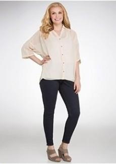 HUE Original Jeans Leggings Plus Size