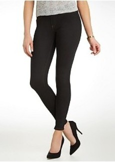 HUE Original Jeans Solid Leggings
