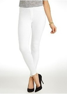 HUE Original Jeans Solid Leggings Plus Size