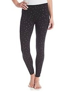 HUE® Pajama Leggings - Mini Hearts