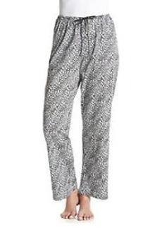 HUE® Pajama Pants - Leopard