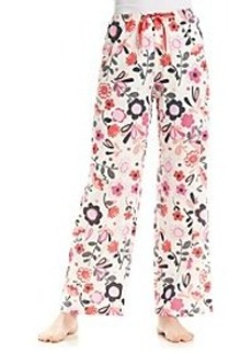 HUE® Pajama Pants - Pink Floral