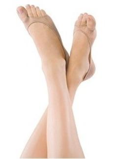 HUE Perfectly Bare Peek-A-Boo Shoe Liners
