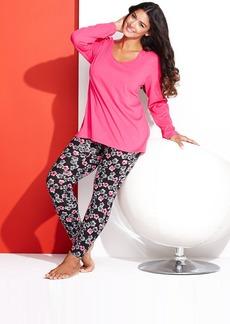 HUE Plus Size Legging Pajama Set