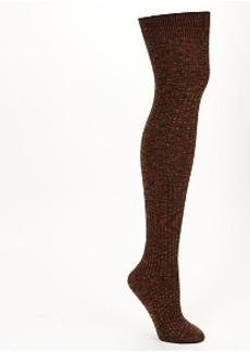 HUE Pointelle Over The Knee Socks