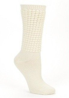 HUE Poodle Slouch Boot Socks