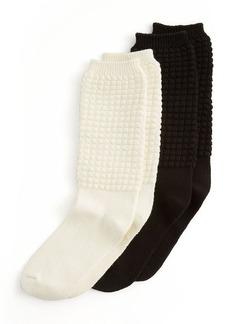 HUE Poodle Slouch Socks