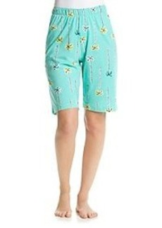 HUE® Printed Lounge Bermuda Shorts