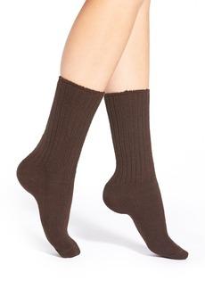 Hue RibKnit Boot Socks