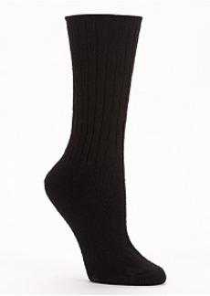 HUE Ribbed Boot Socks