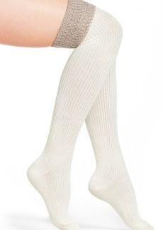 Hue Ribbed Over the Knee Socks