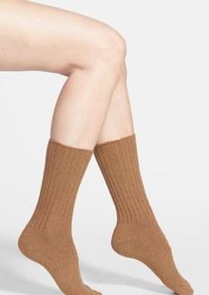 Hue Ribbed Socks
