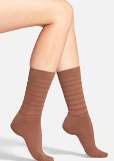 Hue RuchedCrew Socks