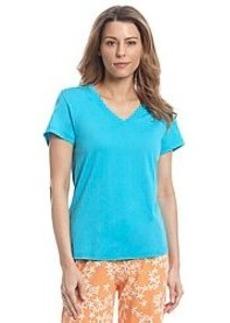 HUE® Scuba Blue Sleep Shirt