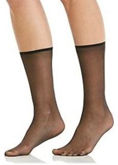 HUE® Sheer Anklet Socks