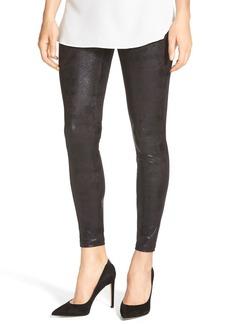 Hue Shimmer Microsuede Leggings