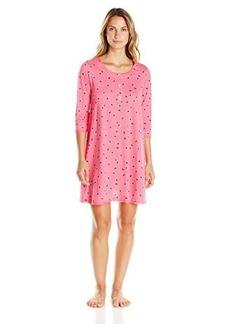Hue Sleepwear Women's Juliet Dot Henley Sleepshirt