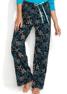 HUE Snow Garden Long Pajama Pants