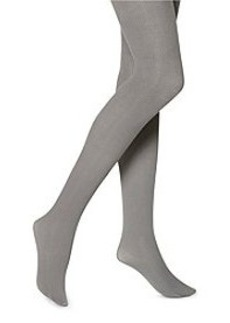 HUE® Steel Classic Rib Tights