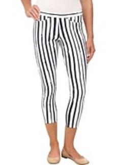HUE Stripe Printed Original Jeans Capri
