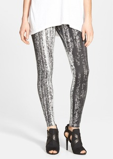 Hue 'Super Smooth - Grain Print' Skimmer Leggings