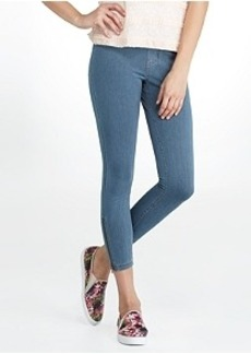 HUE Super Smooth Denim Skimmer Leggings